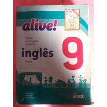 Livro: Inglês Alive 9