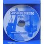Dvd Video-aula Curso De Direito P/concursos Públicos Vol.1