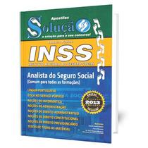 Apostila Inss 2015 Analista Do Seguro Social Todas As Áreas