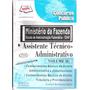 Ministerio Da Fazenda-concurso Publico-esc.adm.fazendaria