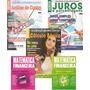 Kit Revistas Matemática Financeira Excel Juros Hp12c Enem