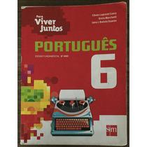 Livro Português 6º Ano Para Viver Juntos.