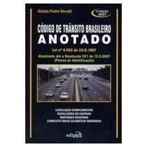 Codigo De Transito Brasileiro Lei Nº 9.503/1997 C/ Supleme