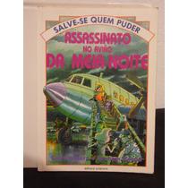 Livro - Assassinato No Avião Da Meia Noite - Gaby Waters