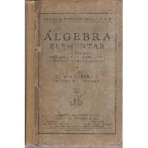 Livro Álgebra Elementar Superior 1941
