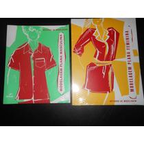 Kit De 2 Livros De Moldes, Modelagem P/ Confecção De Roupas