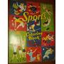 Livro Desenhos Esportes Para Colorir Antigo Anos 50 Raro