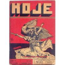 B2128 Rara Revista Hoje Nº 62, Mar 1943, Ciências, Letras