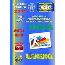 Apostila Concurso Inss Analista Do Seguro Social