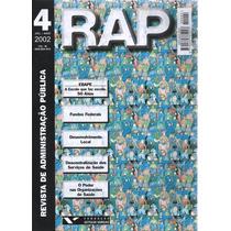 421 Lvs- Livro 2002- Rap Revista, Administração Pública