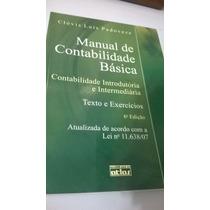 Livro Manual De Contabilidade Básica - Texto E Exercícios