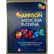 Livro Harrison Medicina Interna Fauci 2 Vols