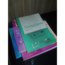 Kit C 4 Livros De Fisioterapia