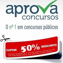 Cupom De 50% De Desconto Aprova Concursos Preparatórios