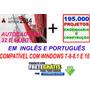 Autcad 2014- 32 64 Bits Em Português E Inglês+ Extras