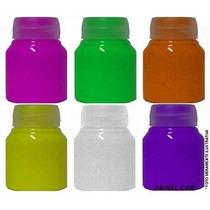 Tinta Corporal Fluorescente Neon Fluorcorp - 1 Litro