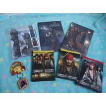 Lote/kit Material Escolar Do Piratas Do Caribe 7 Itens Disne