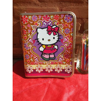 Fichário Colegial Caderno Grande Hello Kitty Sanrio Original