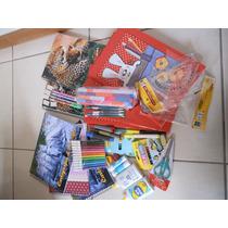 Kit De Material Escolar Comum (41 Itens)