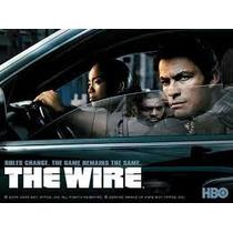 Dvd The Wire 1°2°3°4º 5º Temporada Legendadas - Frete Grátis