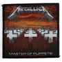 Patch Tecido - Metallica - Master Of Puppets - Importado