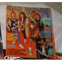Poster Som Tres - Iron Maiden + Reportagens Diversas