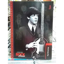 Paul Mccartney Lindo Caderno Grande Capa Dura