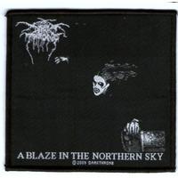 Patch Tecido Dark Throne - Blaze In The Northern Sky - Impor