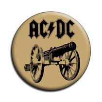 Ac Dc Botton Acdc Button Ac/dc Botton - Mod14 - 3,5cm