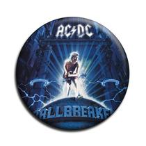 Ac Dc Botton Acdc Button Ac/dc Botton - Mod16 - 5,5cm