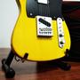 Miniatura Da Guitarra Fender Telecaster Blonde - 25cm
