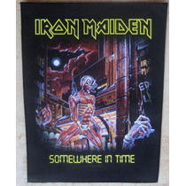 Back Patch (costas) Estampado - Iron Maiden 34 - Importado