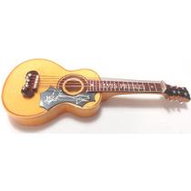 Violão Elvis Presley 20 Cm - Com Case - Miniatura Em Madeira
