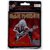 Patch Tecido - Iron Maiden - Fear Dark L:ive P375 Importado