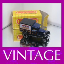1983 Matchbox Lesney Ford Model A + Box Original Superfast