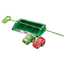 Carros Riplash 2 Pack Relâmpago Mcqueen & Chick Hicks Mattel