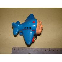 = Brinquedo Antigo = Thomas Avião Antigo Raro Desenho Infant