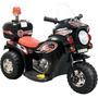 Moto Elétrica Infantil Barzi Motors 6v Preta
