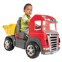 Caminhão Truck A Pedal Cabine Vermelha - Magic Toys
