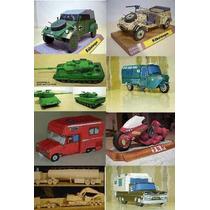 Seleção De Modelos De Papel Em 3d Para Imprimir E Montar