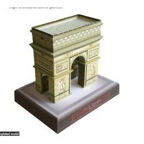 Maquete De Papel 3d - Arco Do Triunfo - França