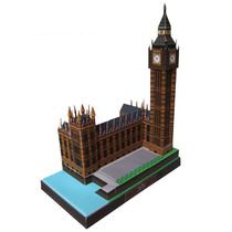 Maquete De Papel 3d - Big Ben - Inglaterra