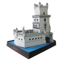 Maquete De Papel 3d - Torre De Belem - Portugal