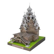 Maquete De Papel 3d - Igreja Da Transfiguração - Russia