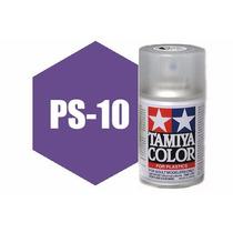 Spray Tamiya Ps-10 Purple 3oz Polycarbonate 86010