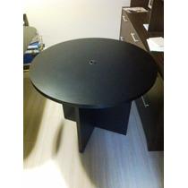 Mesa De Reuniões Redonda - Seminova - R$ 700,00