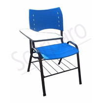 Cadeira Universitaria Plastica Colorida