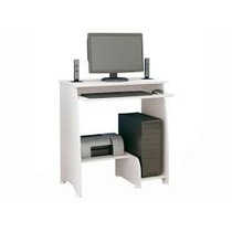 Rack Mesa Para Computador Pixel Branca Pronta Entrega