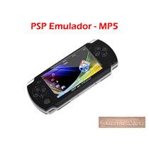 Emulador De Jogos Psp Mp5 Com 3000 Jogos Memória