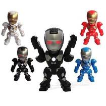 Caixa De Som Iron Men Homem De Ferro Mp3 Pendrive Fm Lu-15